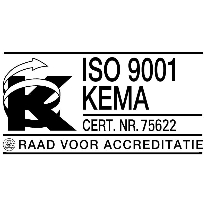 KEMA ISO 9001 vector
