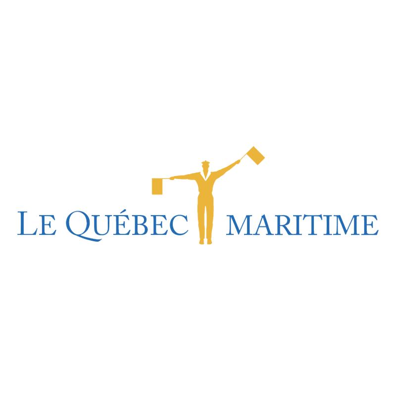 Le Quebec Maritime vector