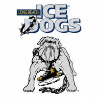 Long Beach Ice Dogs vector