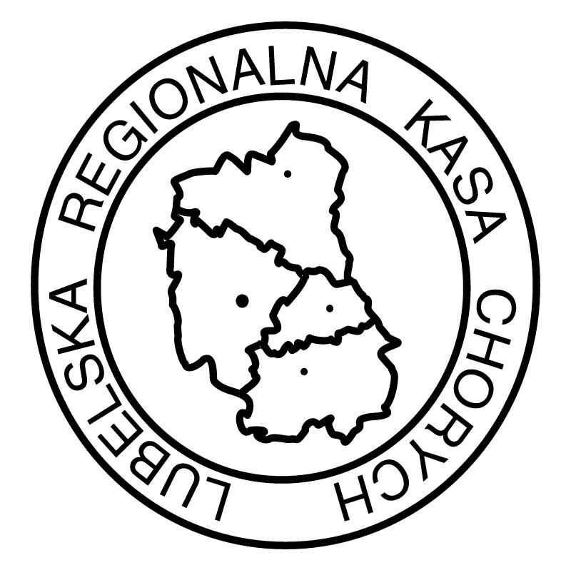 Lubelska Regionalna Kasa Chorych vector