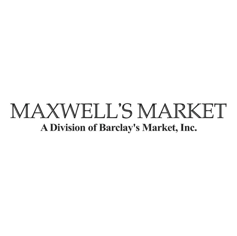 Maxwell's Meat Market vector
