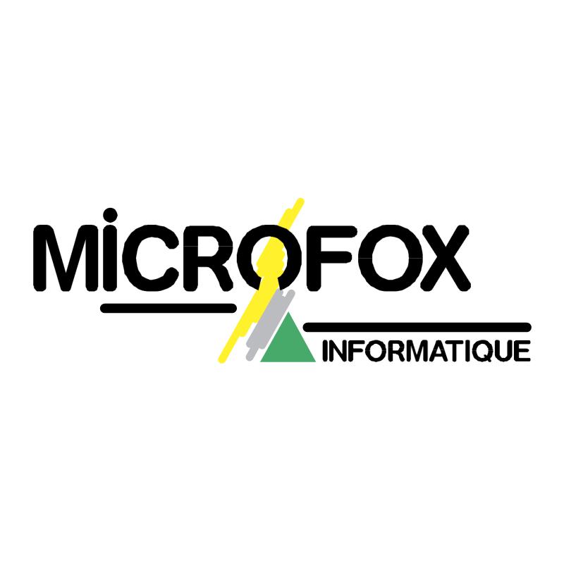 Microfox vector logo