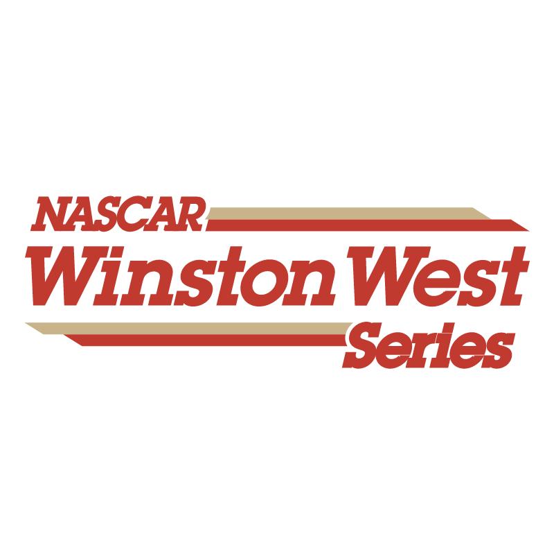 NASCAR Winston West Series vector