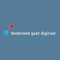 Nederland gaat digitaal vector