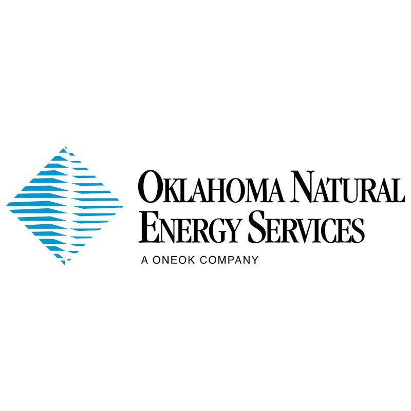 Oklahoma Natural Energy Services vector logo