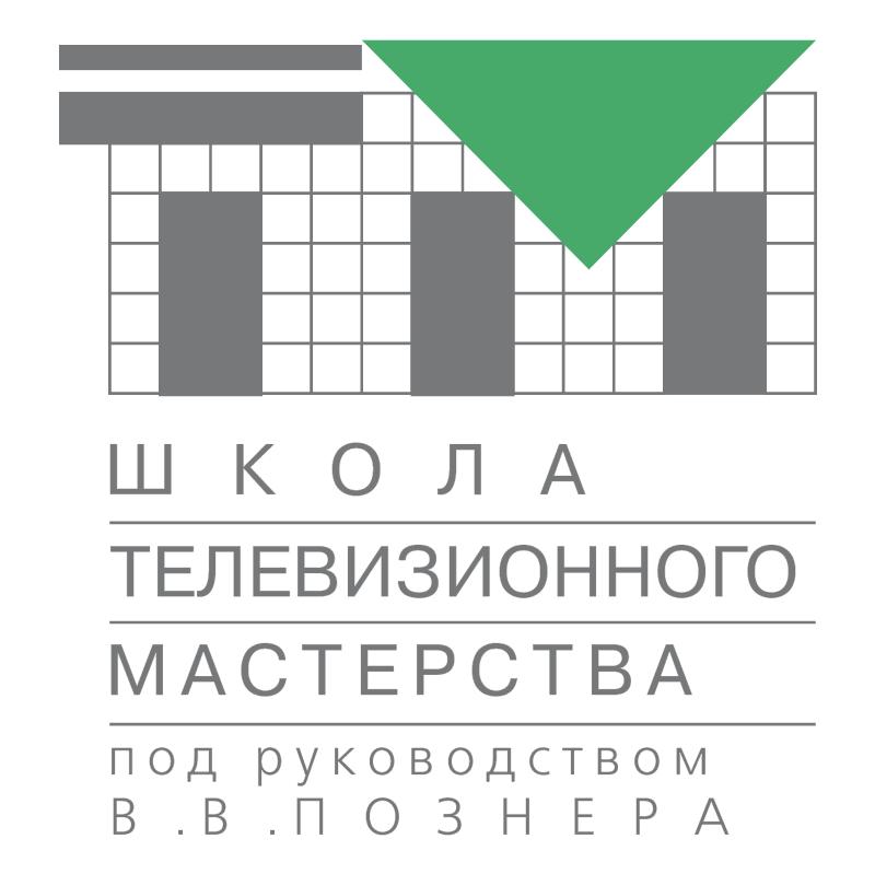 Posner TV School vector logo