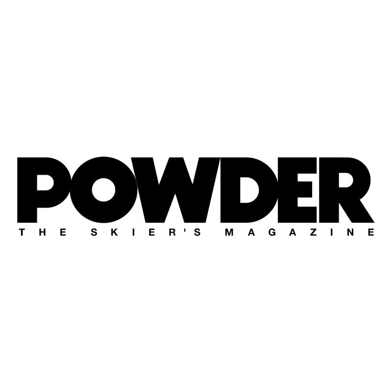 Powder vector logo