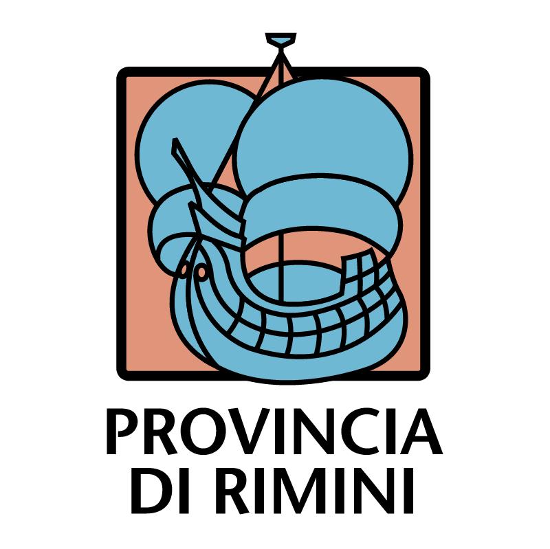 Provincia di Rimini vector logo