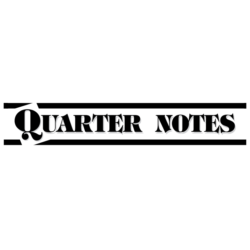 Quarter Notes vector