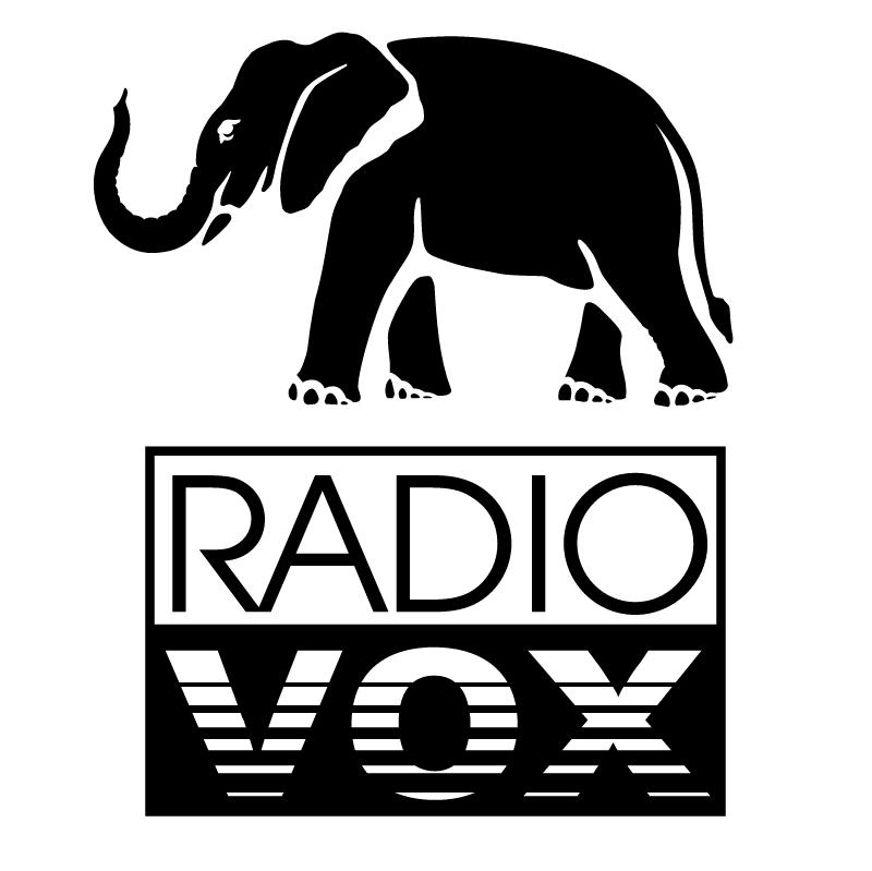 Radio Vox vector