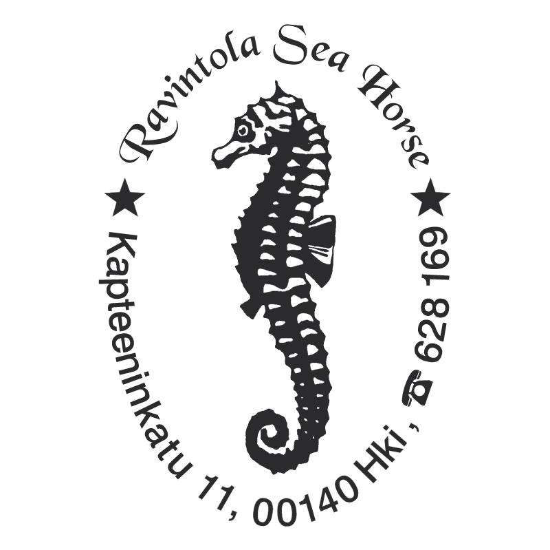 Ravintola Sea Horse vector