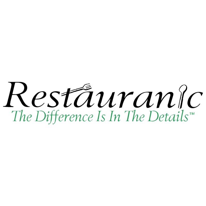 Restauranic vector logo