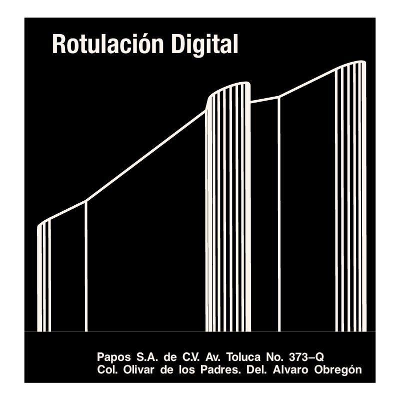 Rotulacion Digital vector