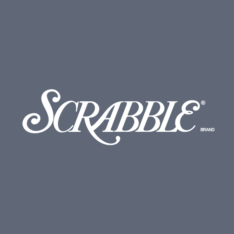 Scrabble vector logo