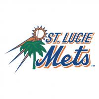 St Lucie Mets vector