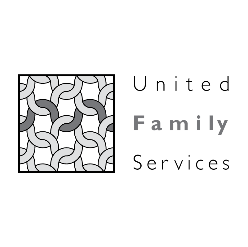 United Family Services vector