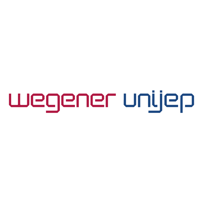 Wegener Unijep vector logo