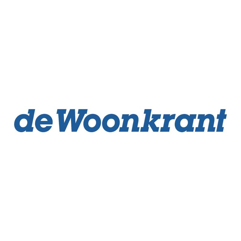 Woonkrant vector
