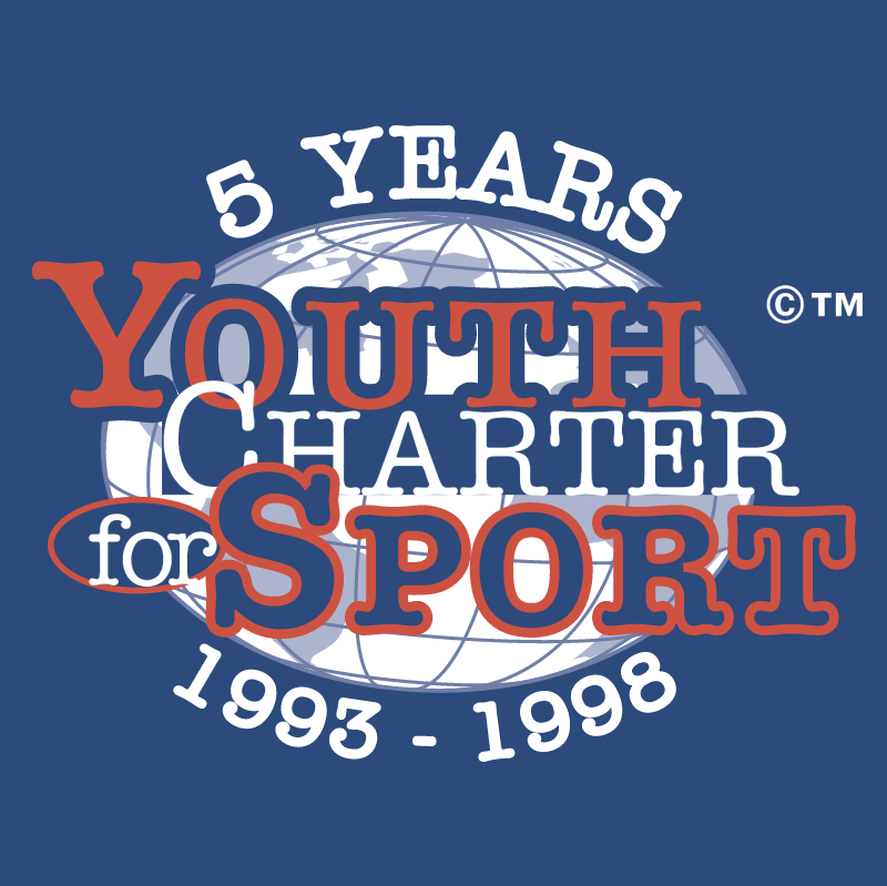 Youth Charter for Sport vector