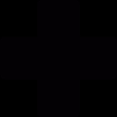 Addition mark vector logo
