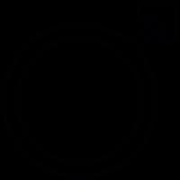 Male gender symbol vector