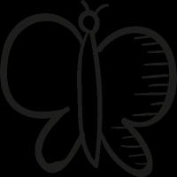 Pretty Butterfly vector
