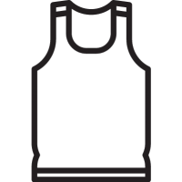Sleeveless Shirt vector