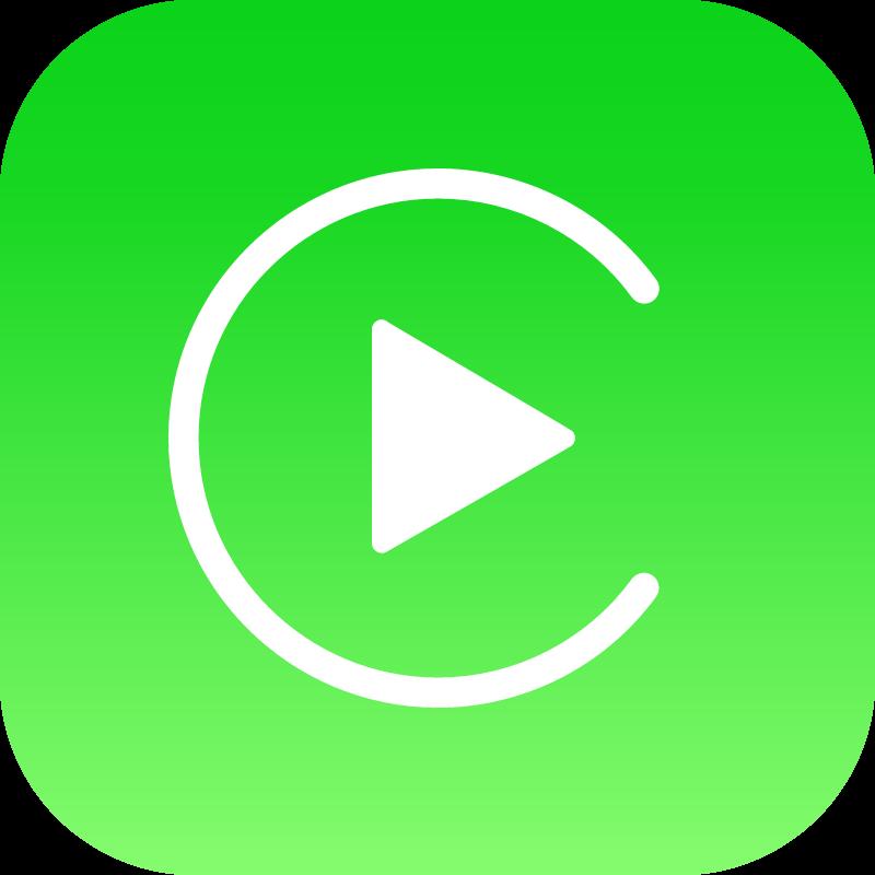 Apple Carplay icon vector
