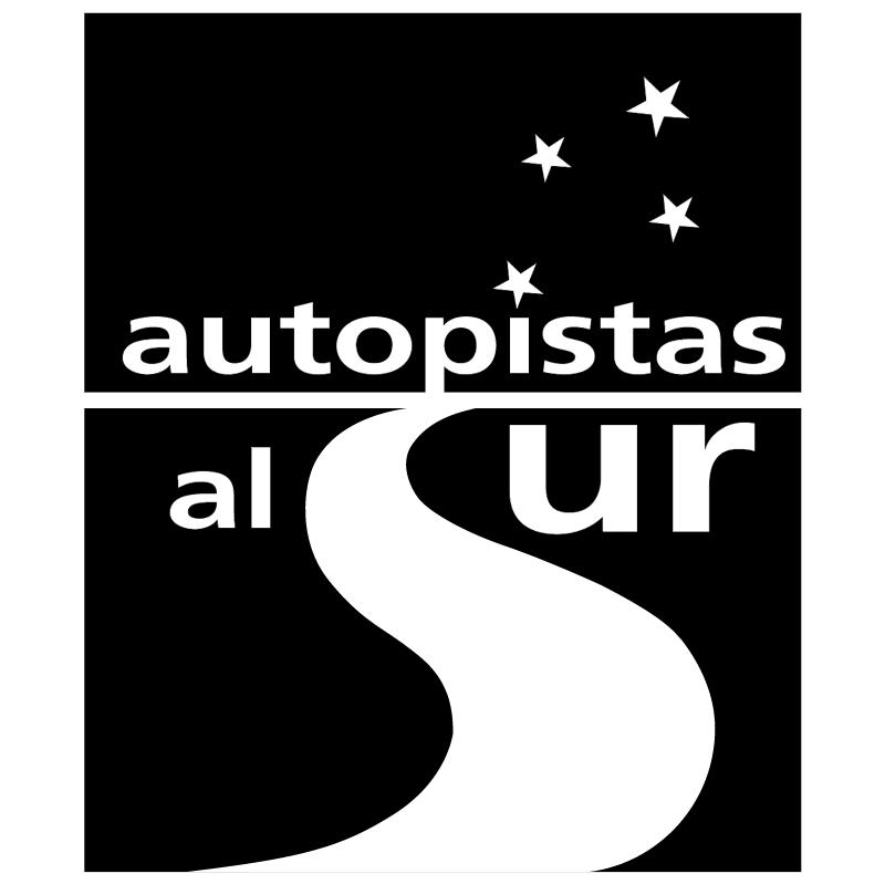 Autopistas Al Sur vector