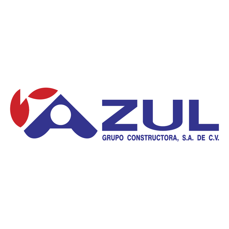 Azul Grupo Constructor vector