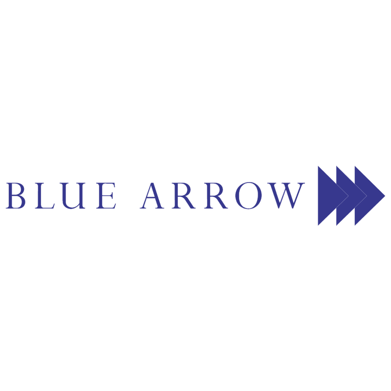 Blue Arrow 904 vector