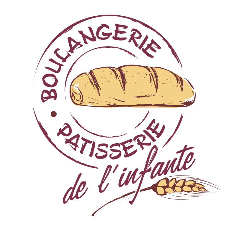 Boulangerie Patisserie de L'Infante 21022 vector