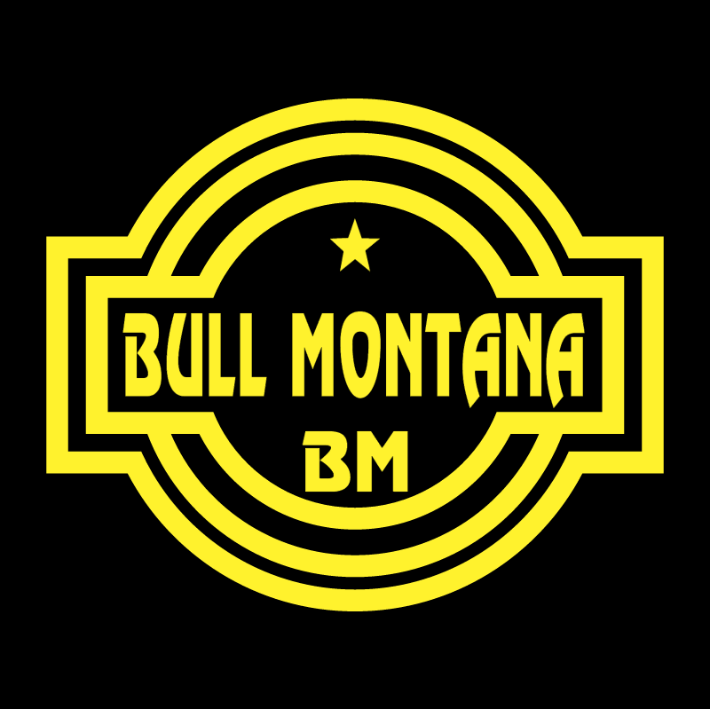 Bull Montana 34355 vector