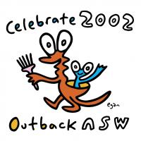 Celebrate 2002 vector