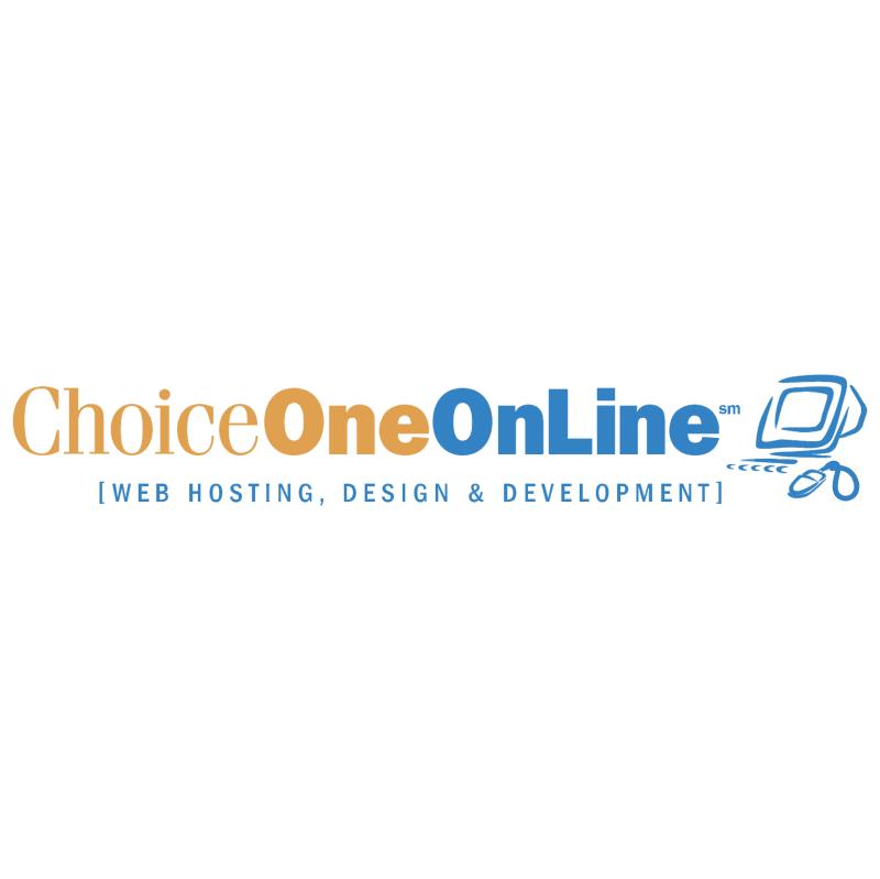 ChoiceOneOnLine vector