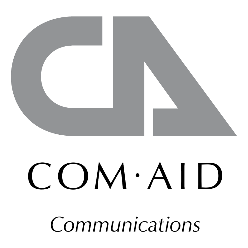 Com Aid Communications vector