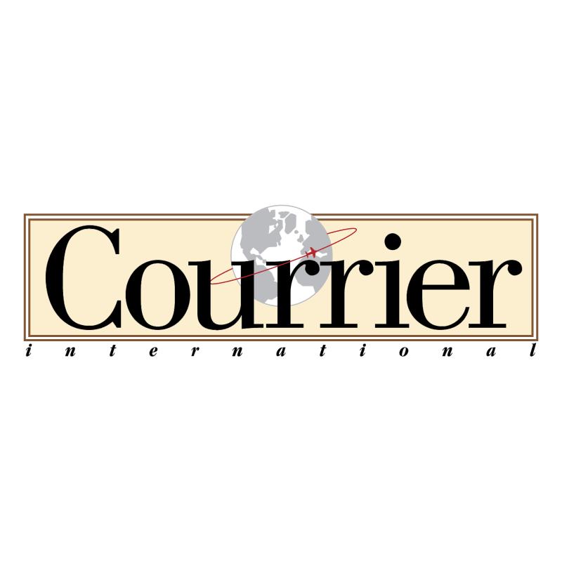 Courrier International vector