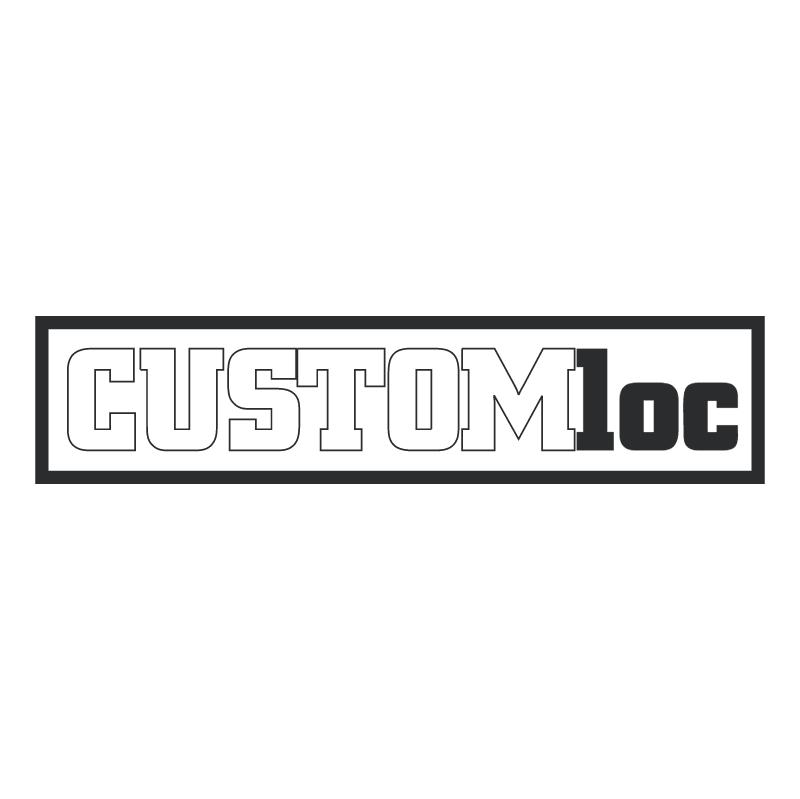CustomLoc vector logo