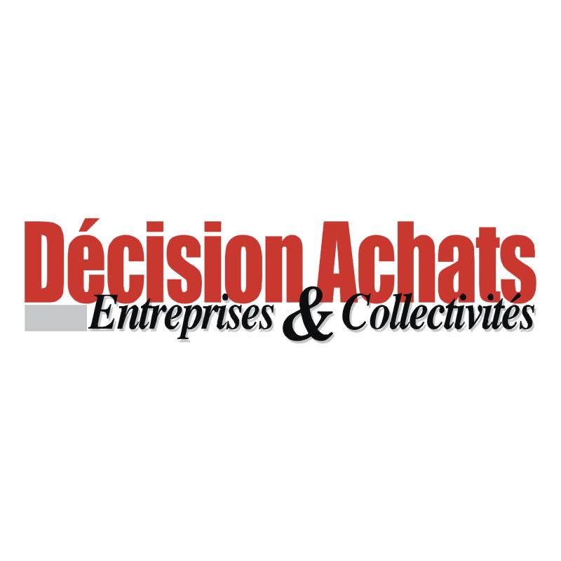 Decision Achats vector