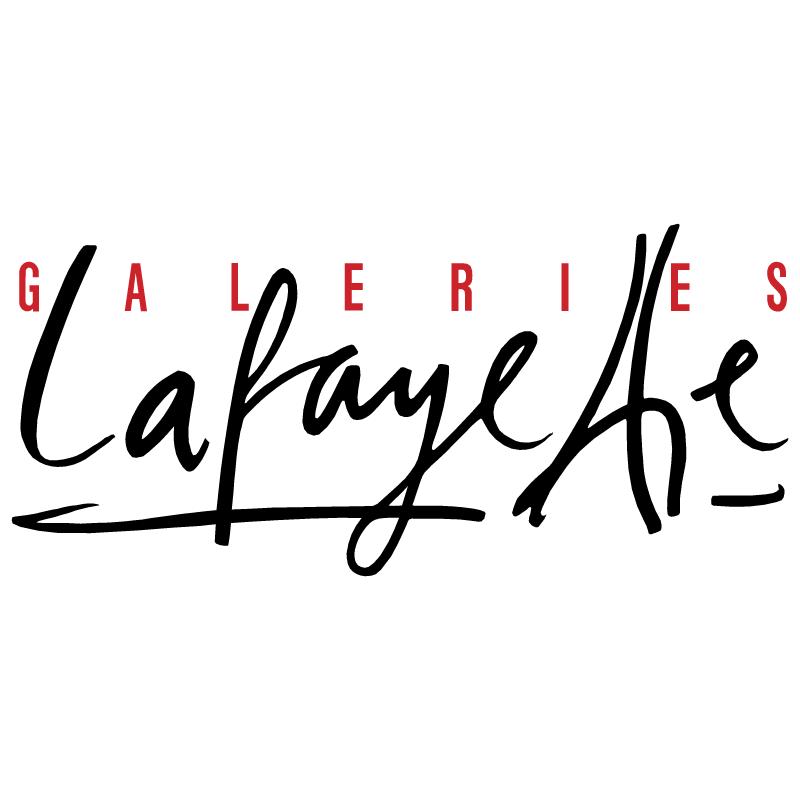 Galeries Lafayette vector