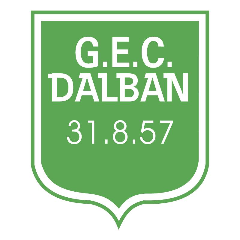 Gremio Esportivo e Cultural Dalban de Veranopolis RS vector logo