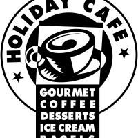 Holiday Cafe vector