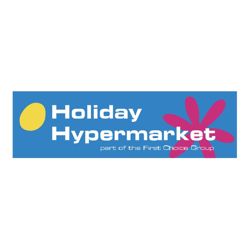 Holiday Hypermarket vector