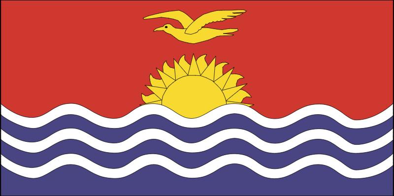 kiribati vector logo