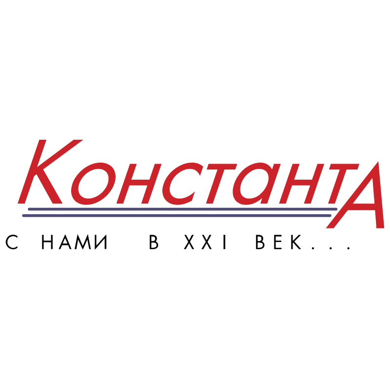 Konstanta vector logo