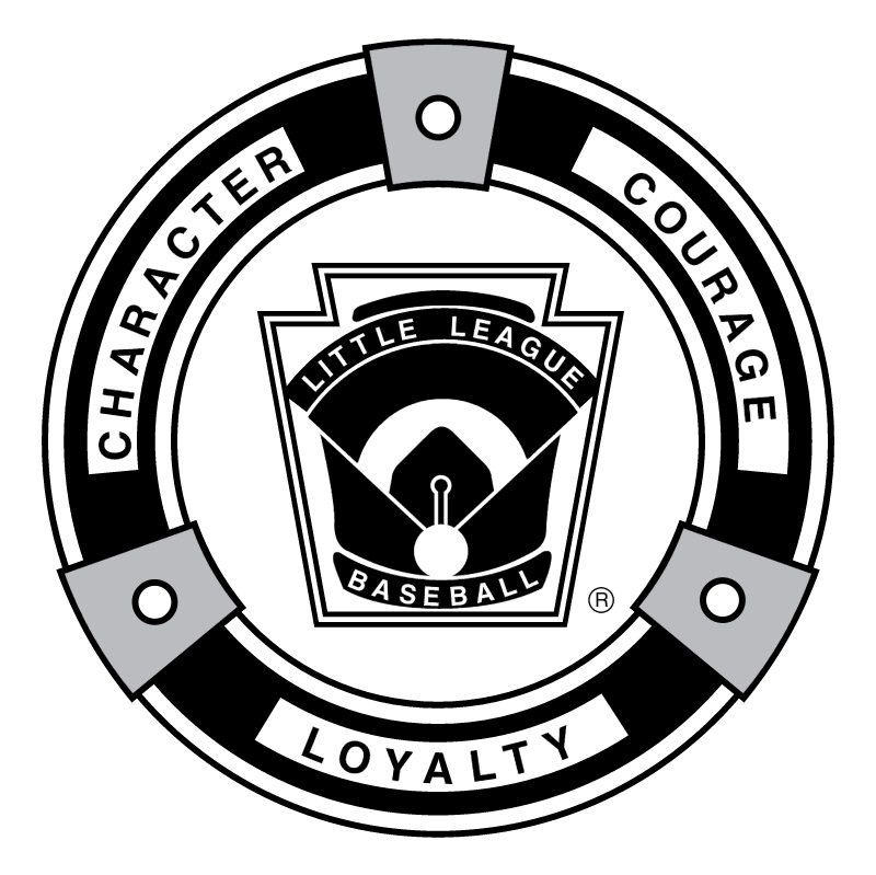 Little League Baseball vector