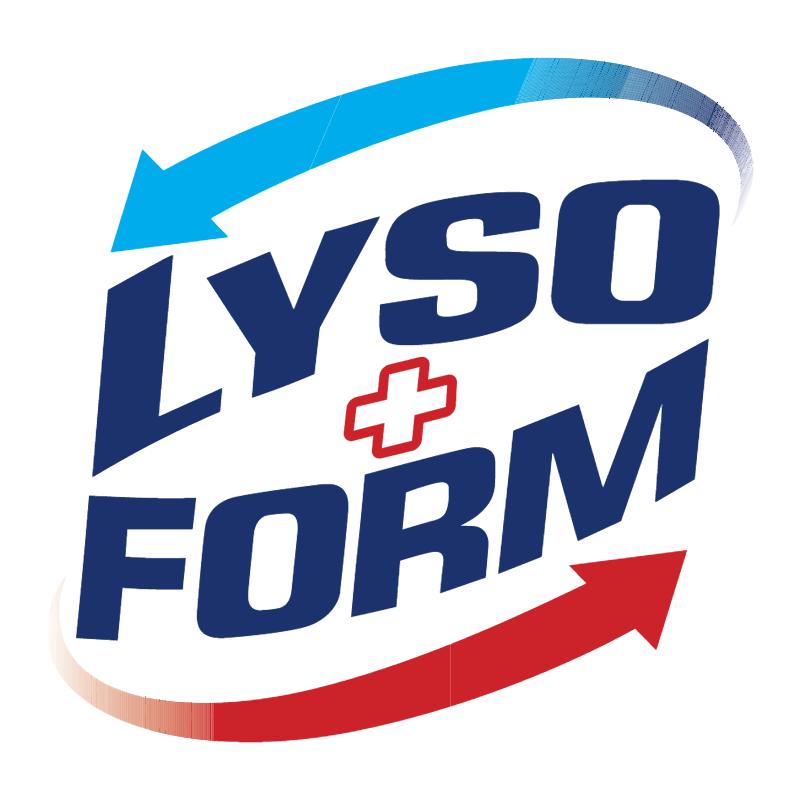 Lysoform vector logo