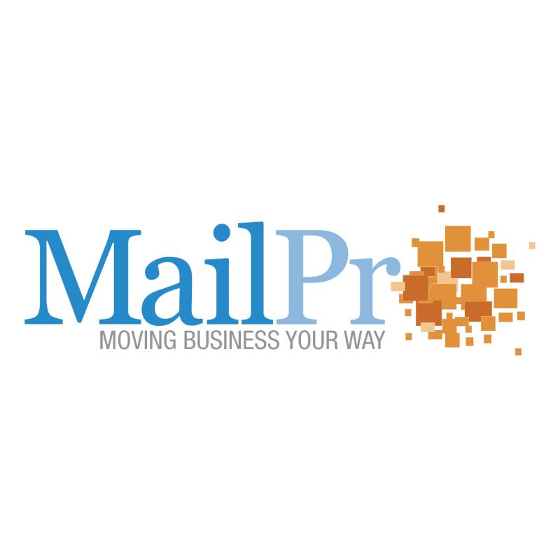 MailPro vector logo