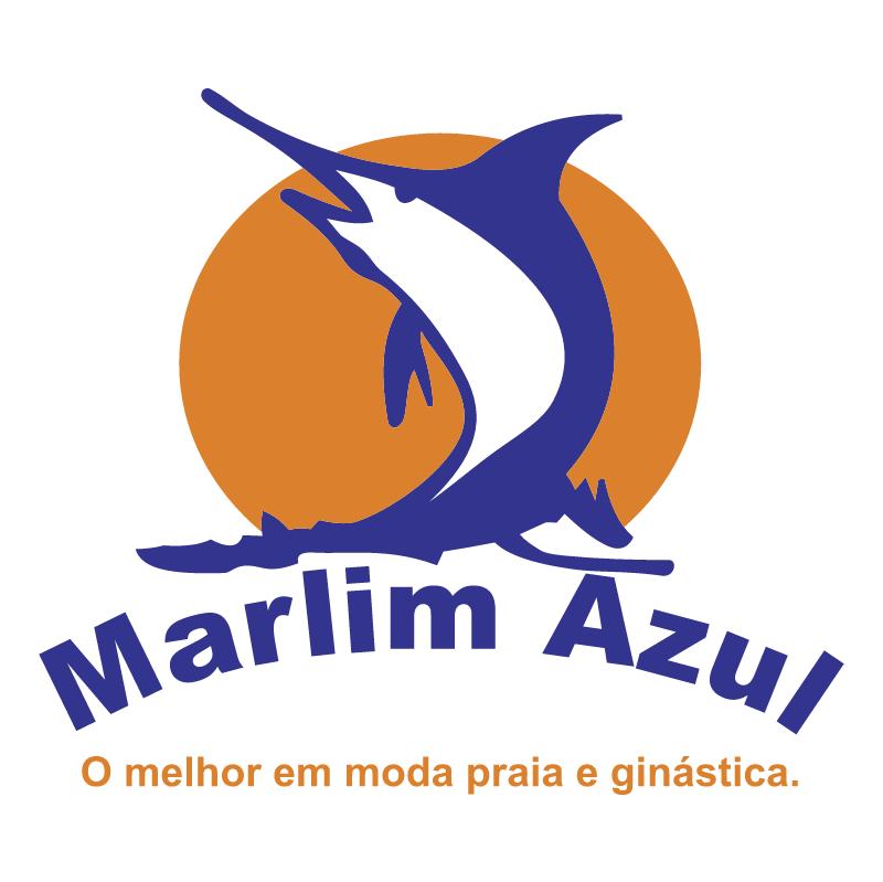 Marlin Azul vector logo