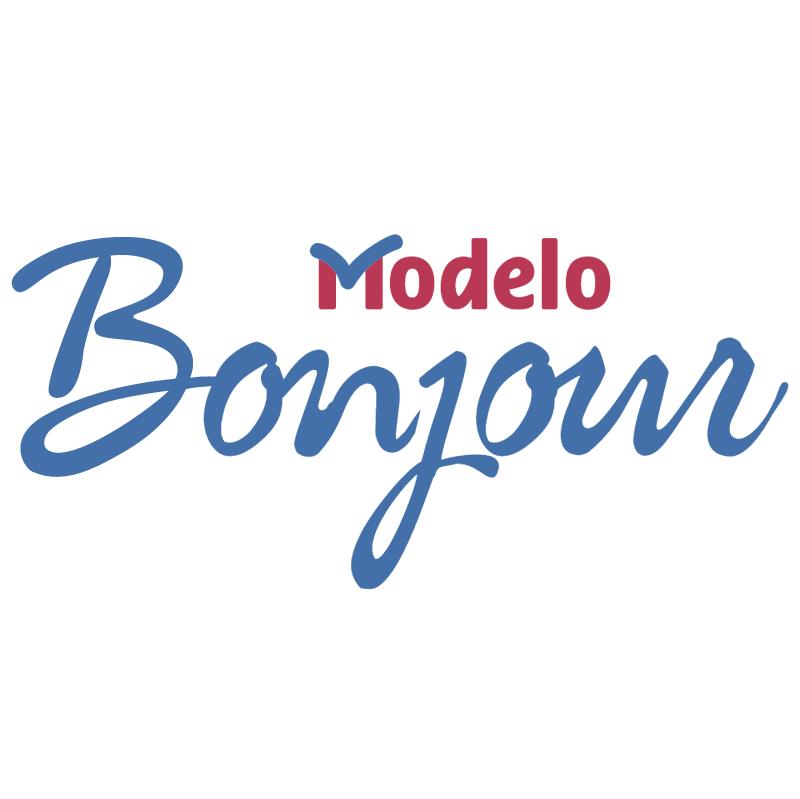 Modelo Bonjour vector logo